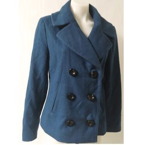 Merona Short Pea Coat Size Medium